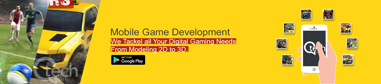 Mobile Games Development, Mobile Games Designing